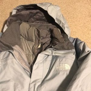 North Face 2 in 1 ski jacket